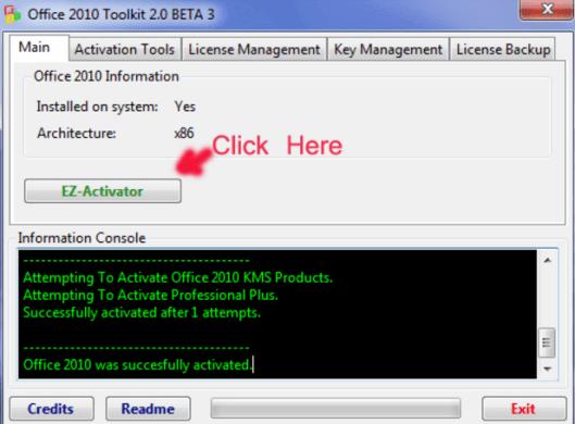 """nhấn vào """"EZ-Activator"""""""