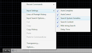 Các dòng lệnh trong AutoCAD 2014