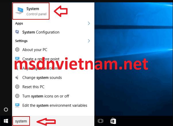 Kiểm tra phiên bản windows bạn đang dùng