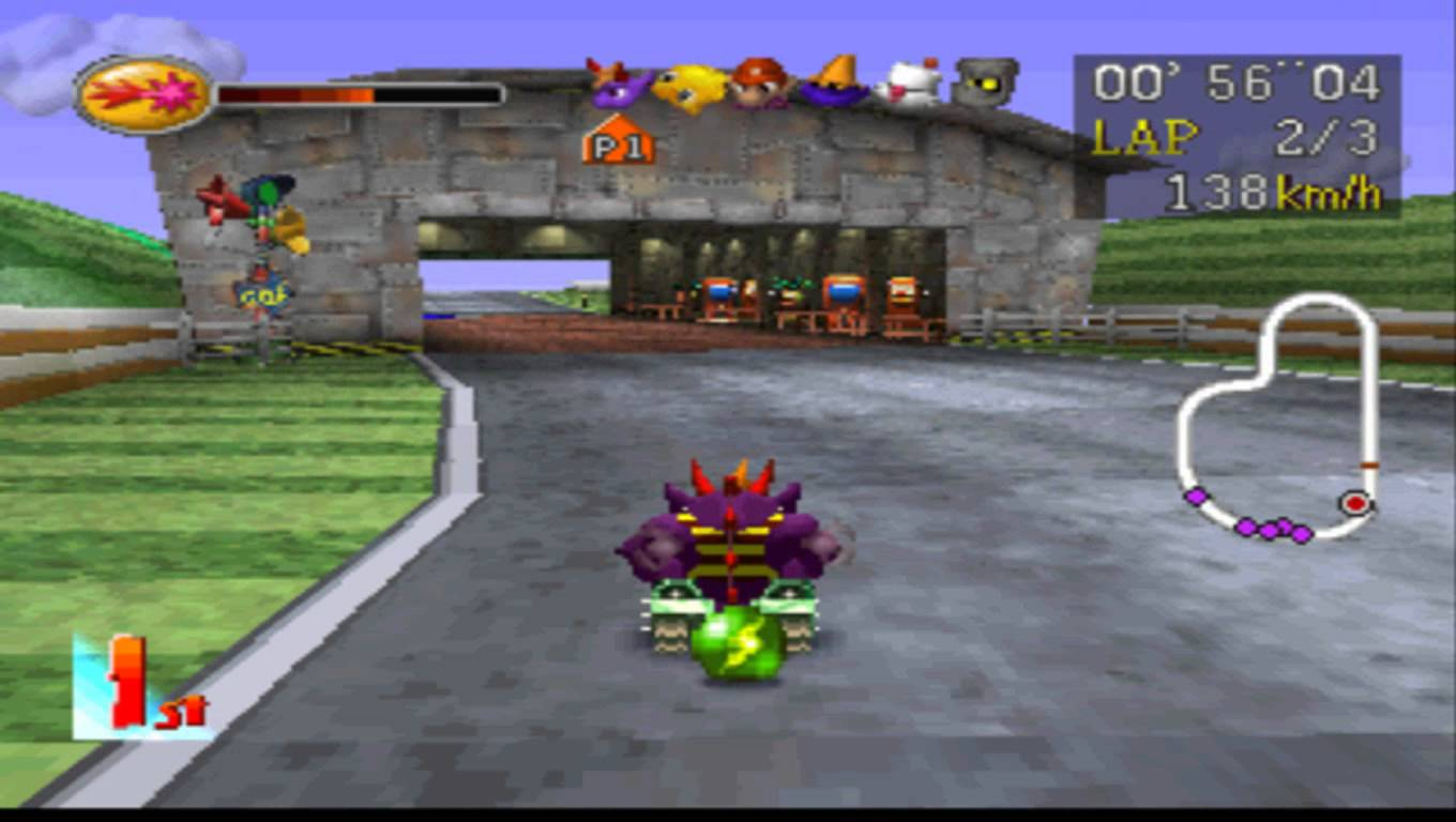 Download Game Đua Xe Thú (Chocobo Racing)