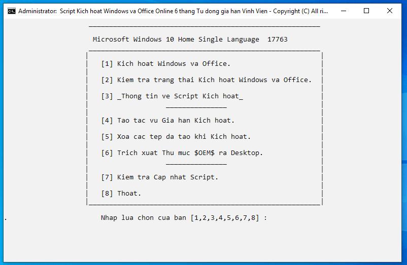 kích hoạt windows và office vĩnh viễn hình 3